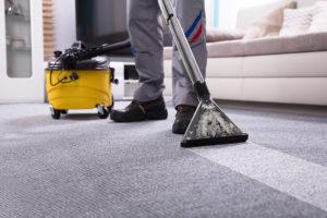 låt en expert rengöra mattan