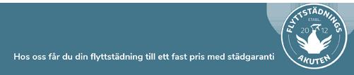 flyttstädningsakuten i nyköping slogan